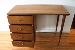 mcm desk with tapered legs 2