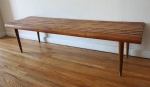 mcm long slatted bench 2