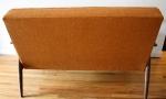 mcm orange settee 3