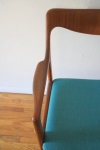 Swedish teak chair 3