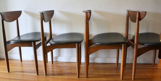 Mid Century Modern Dining Chair Set By Lane Picked Vintage