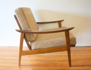 hans wegner style arm chair 2
