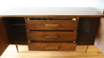 Bassett credenza with wood handles 2