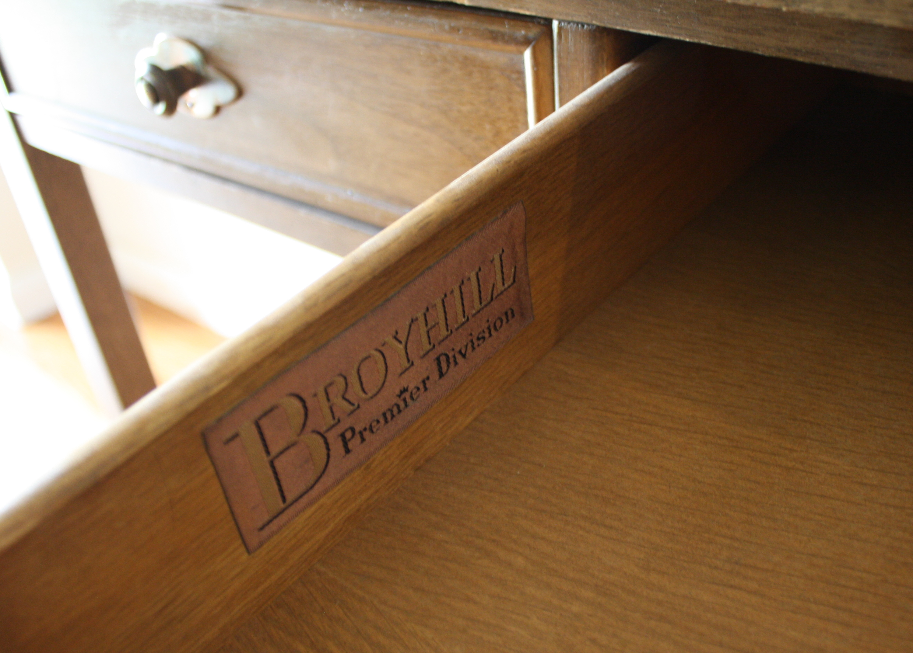 Mid Century Modern Serving Bar Cart From Broyhill Premier Collection |  Picked Vintage