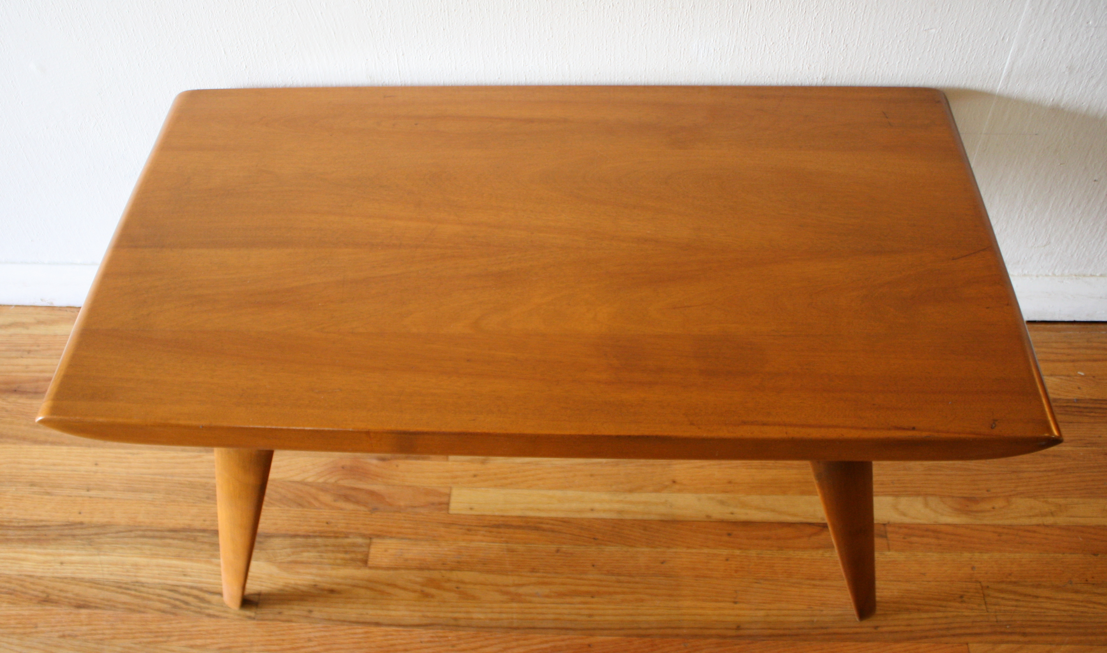 Mid century modern coffee table by heywood wakefield picked vintage heywood wakefield coffee table 2 geotapseo Image collections