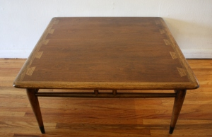 Lane Acclaim square coffee table 2