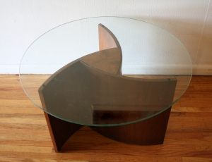 mid century modern propeller table 1