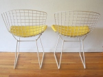 bertoia chair pair 3