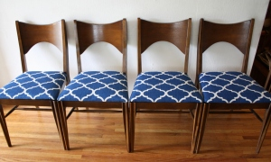 Broyhill Saga dining chair set 2