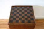 checkerboard game table ottoman 3