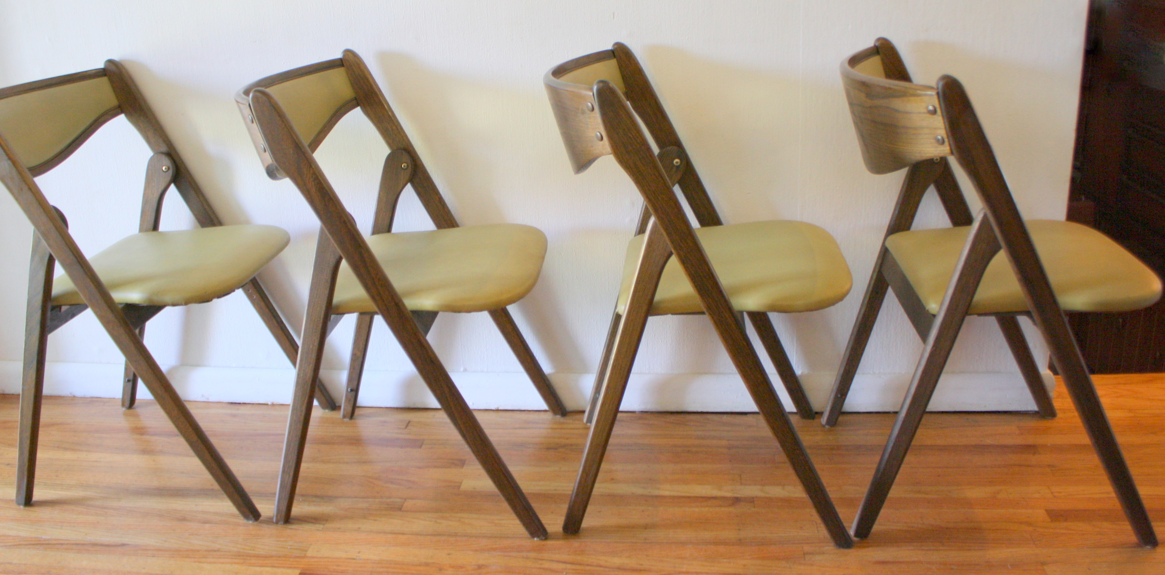 Coronet folding chairs 2