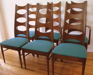 Kroehler dining chairs 1
