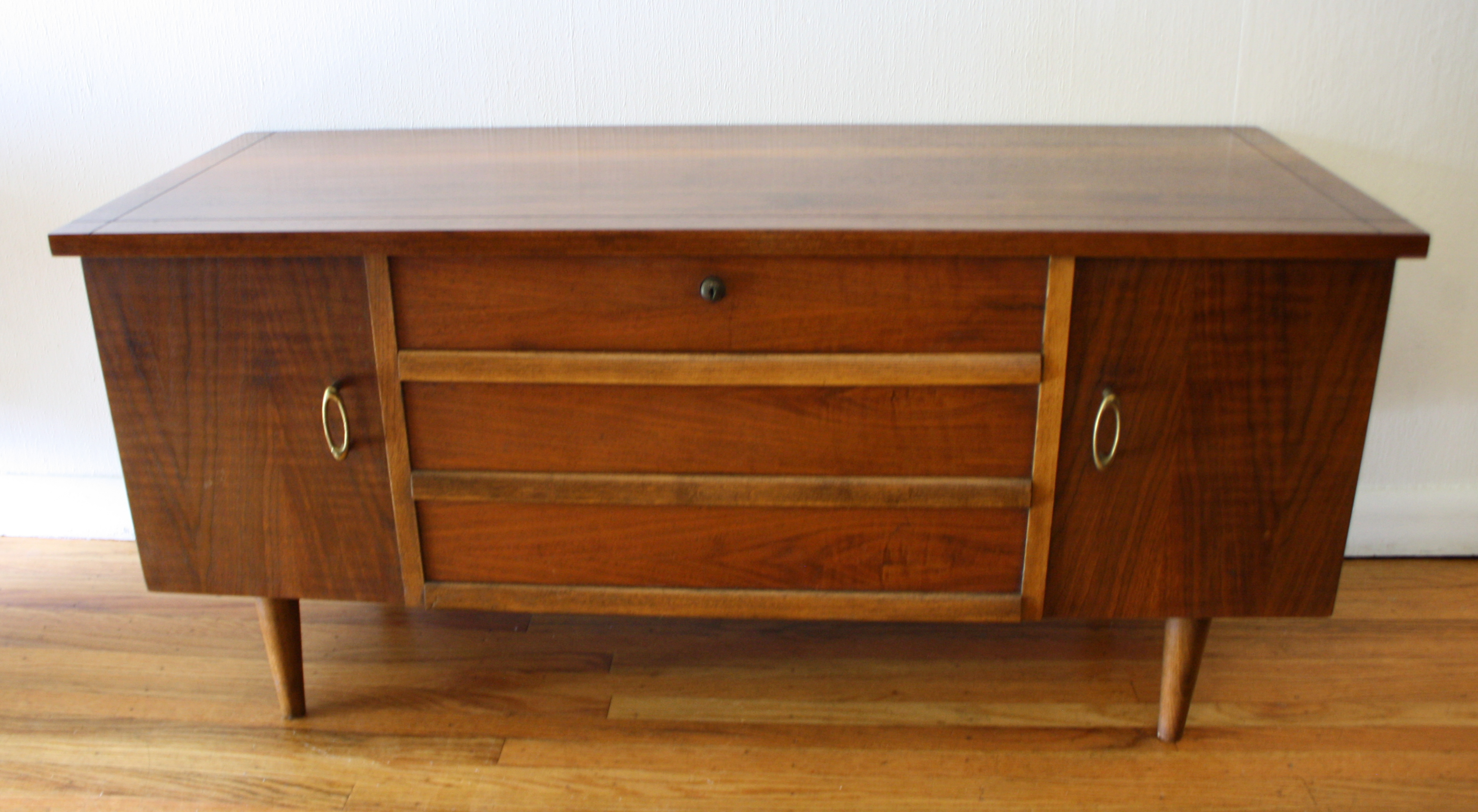 Mid Century Modern Cedar Chest Trunks By Lane Picked Vintage