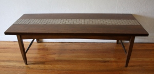 Lane gray tile coffee table 1