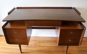 Mcm floating desk by Hooker 1