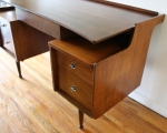 Mcm floating desk by Hooker 5