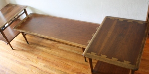 Lane Acclaim side end tables and coffee table 1
