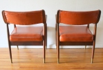 mcm pair of orange chairs 4