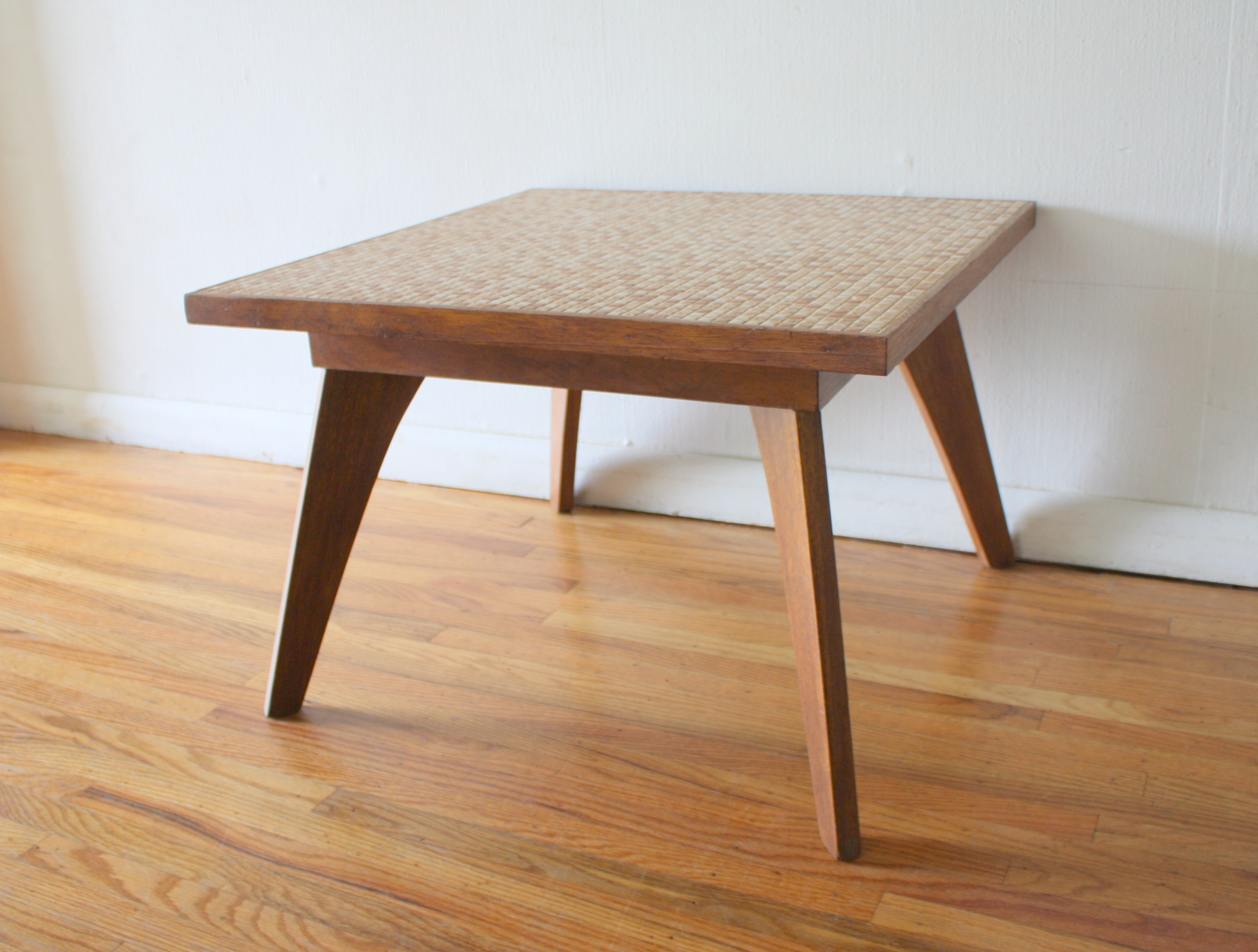 Mcm Square Tile Table 1