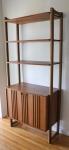 mid century modern modular shelf unit 1