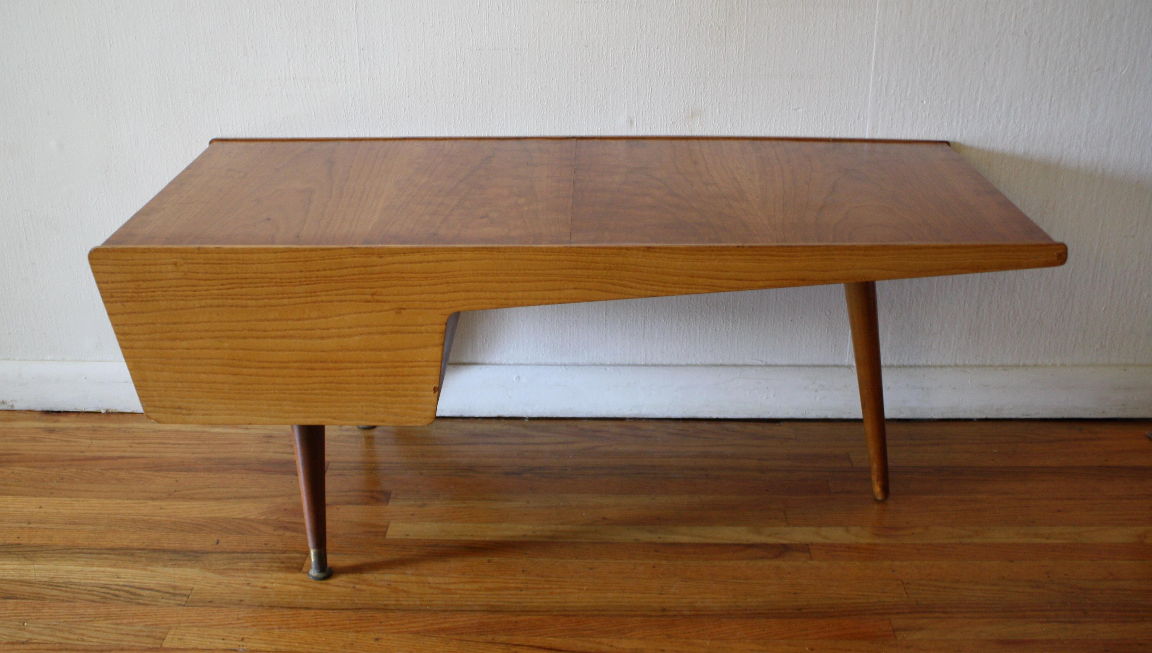 John Stuart asymmetrical coffee table 4