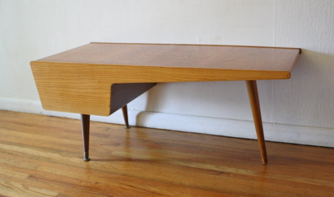 John Stuart asymmetrical coffee table