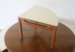 mcm game table with white seats 2