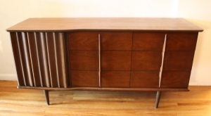 United low dresser credenza with sculpted handles 1