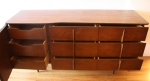 United low dresser credenza with sculpted handles 2