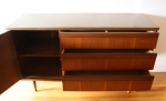 mcm credenza with parquet design left side cabinet 2