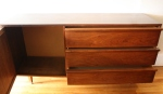 mcm credenza with rattan side cabinet 2