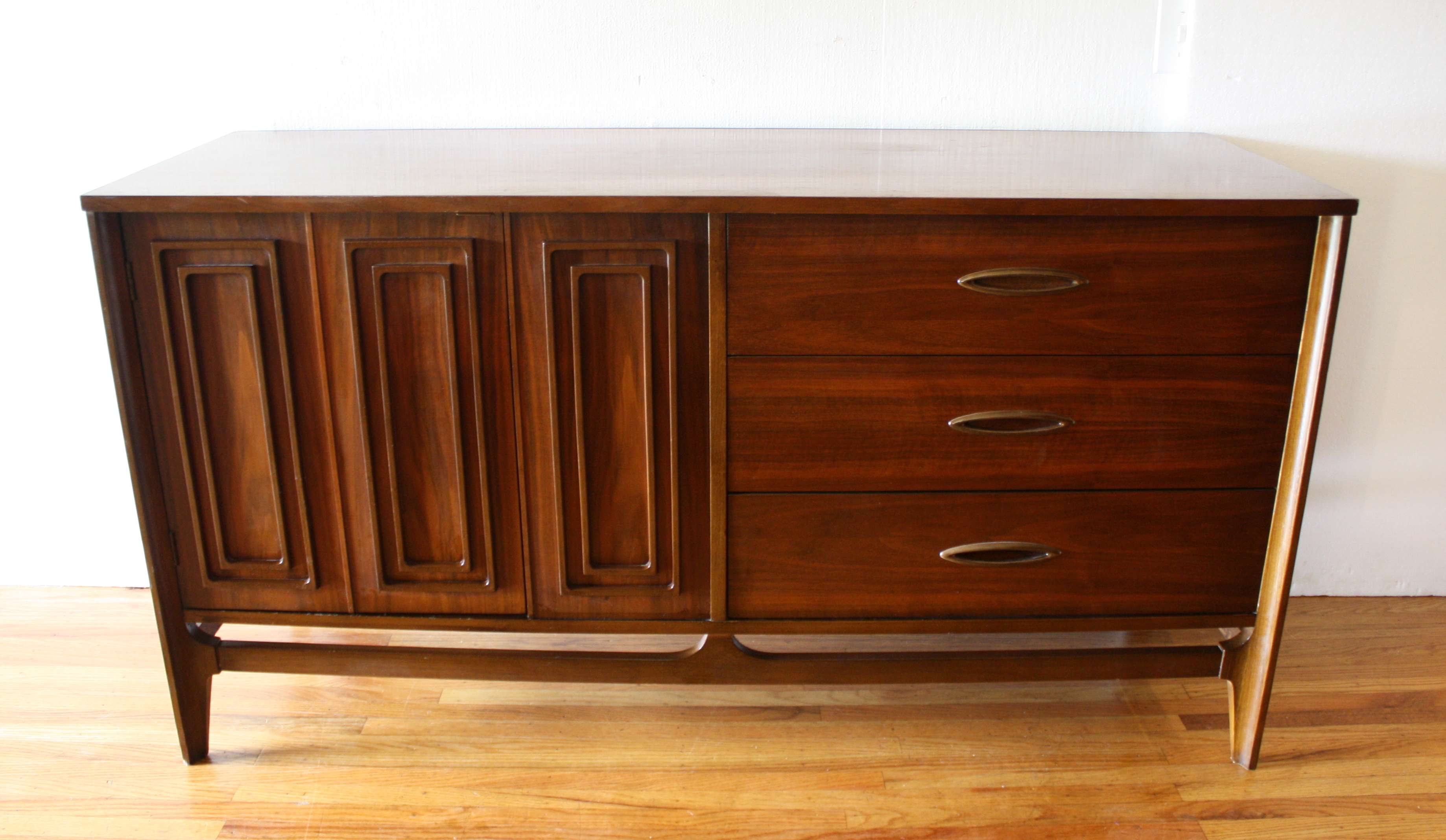 mcm credenza with sculpted handles and doors 1