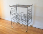 mcm wire record rolling rack 2