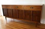 Basic Witz low dresser credenza diamond detail 2