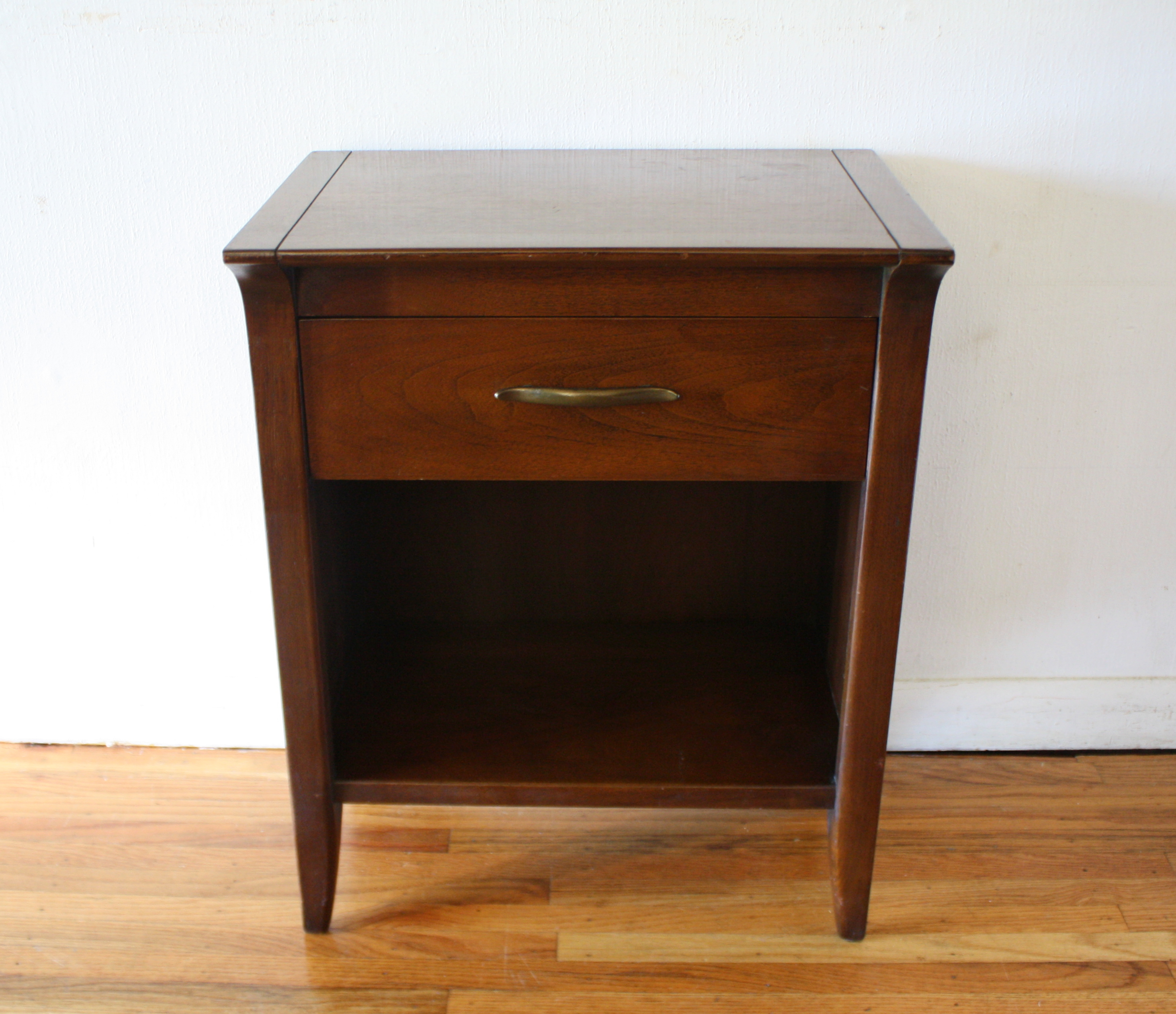 Mid Century Modern Tall Dresser And Nightstand By John Van