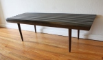 mcm large slatted bench dark 1
