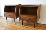 stanley end table pair of nightstands 4