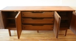Van Sciver credenza with sculpted doors 2