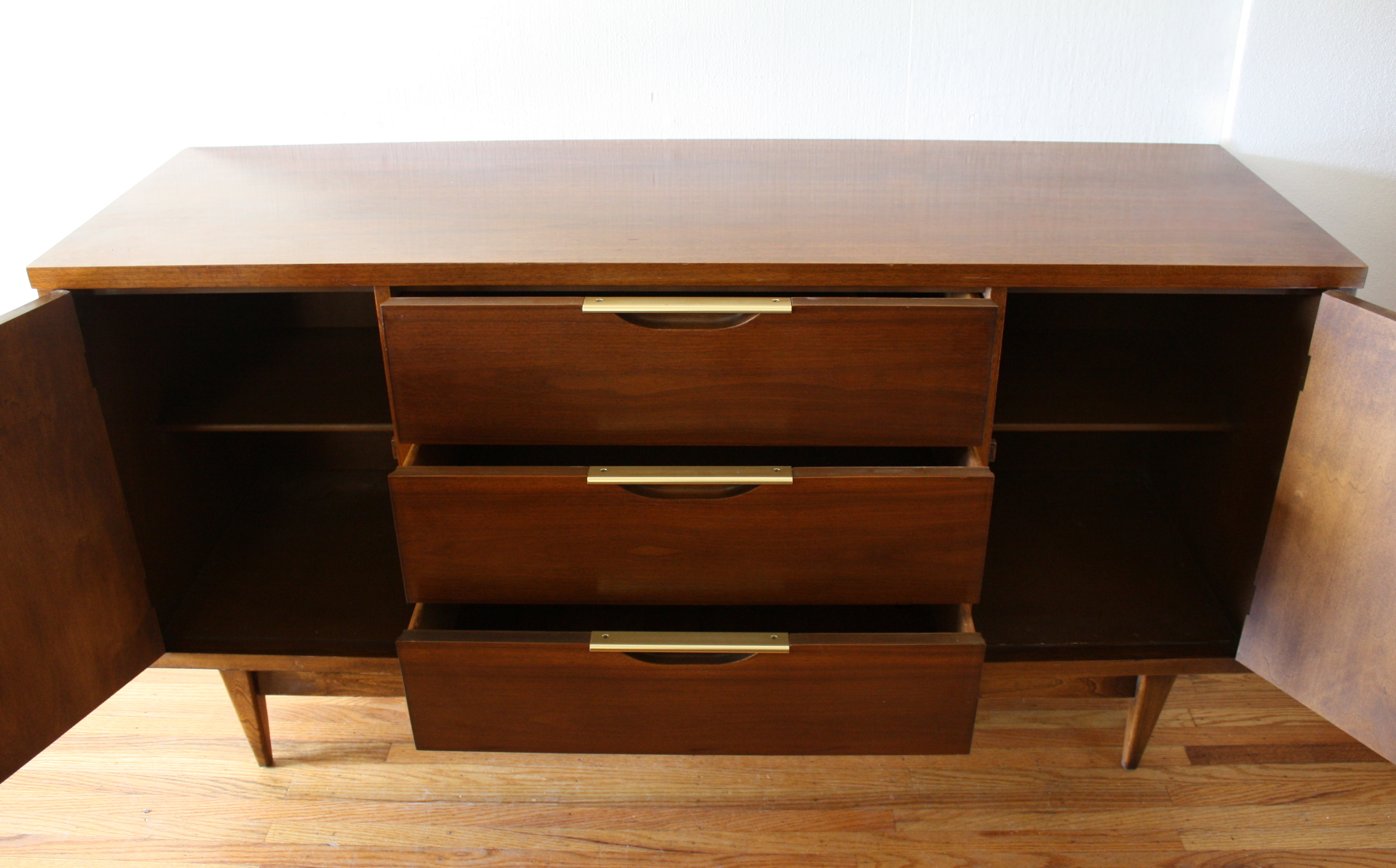 Mid Century Modern China Cabinet Hutch From The Kent