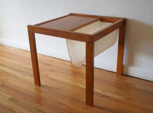 mcm Danish magzine table stand 2
