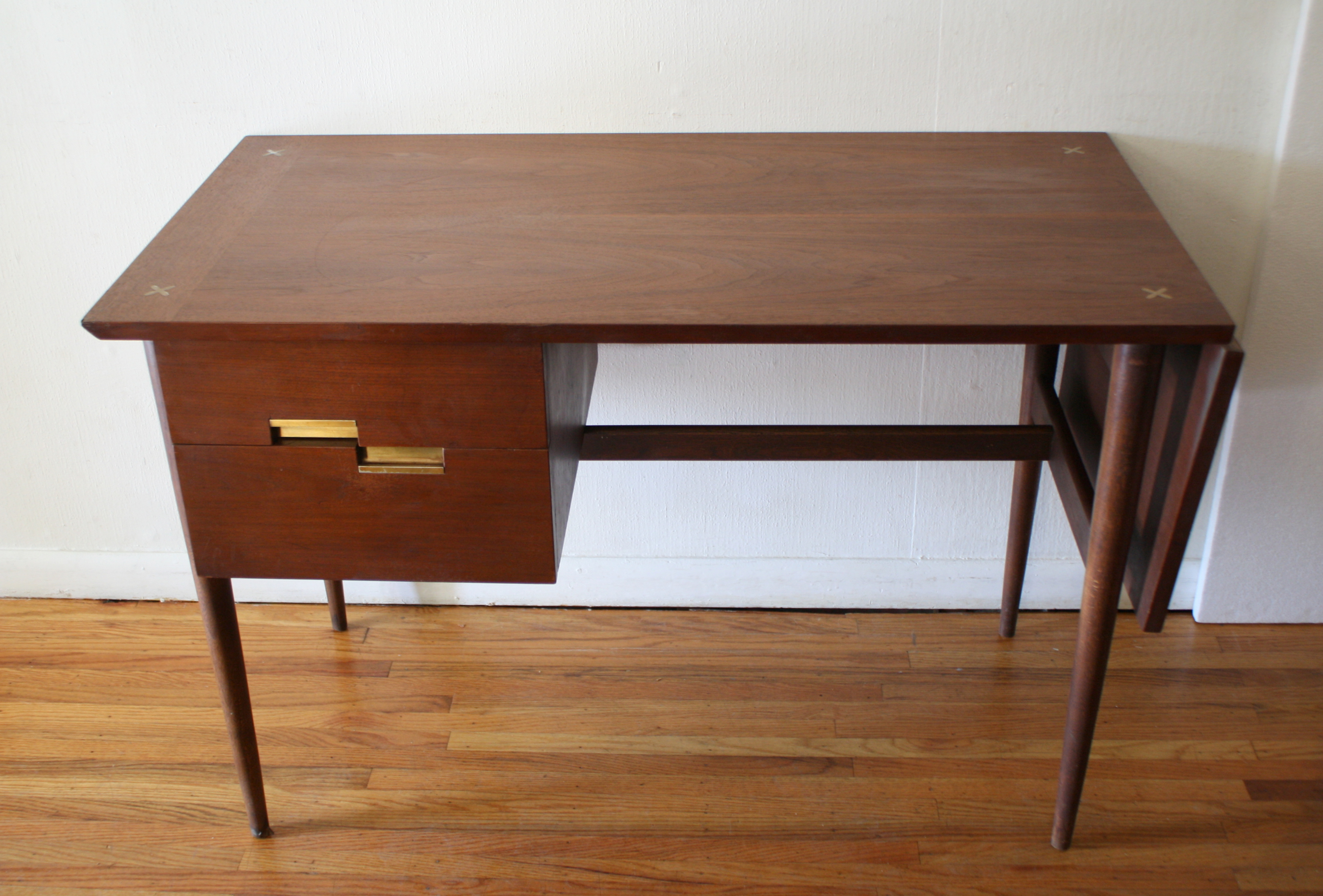 Mid Century Modern Desk By American By Martinsville