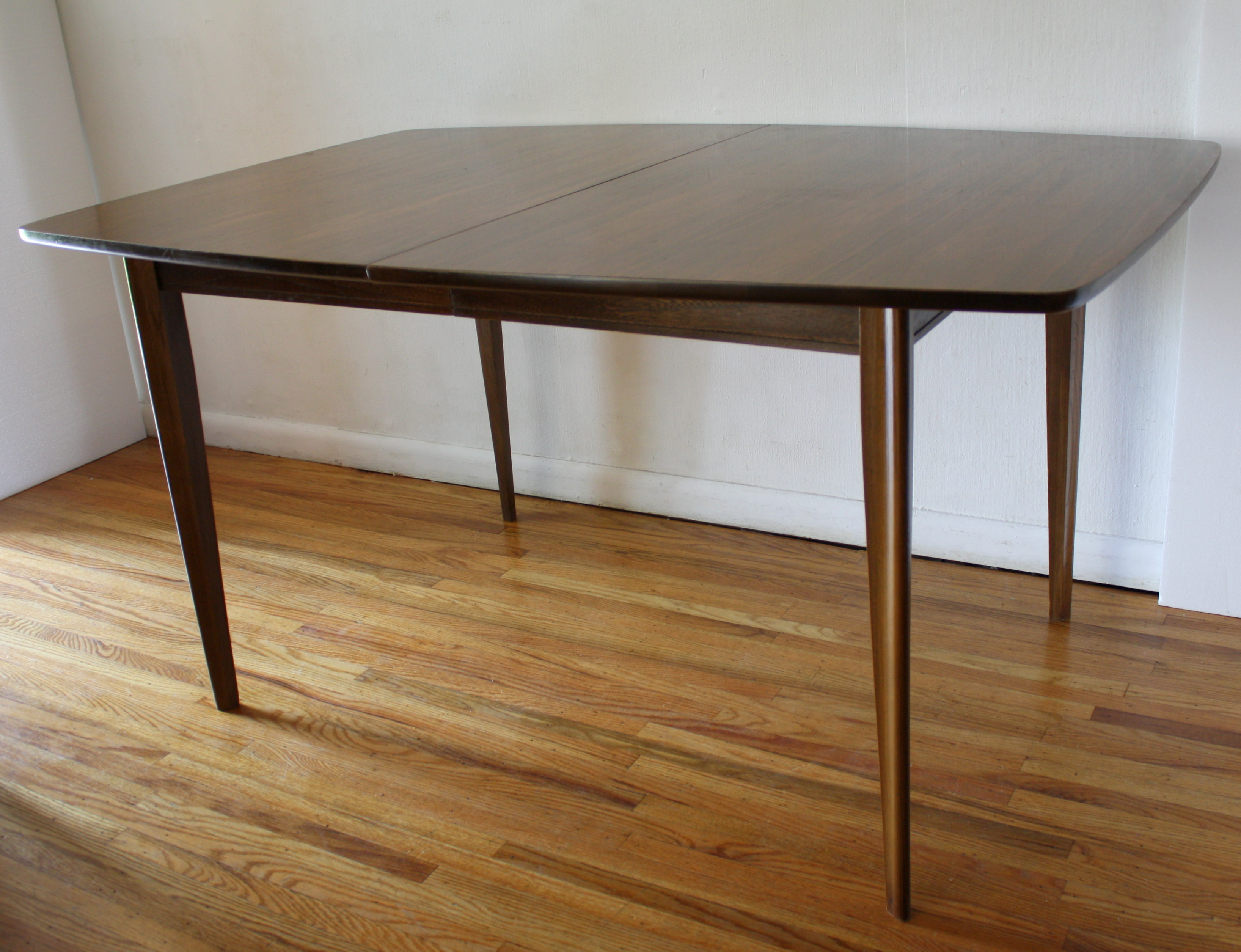 Mid century modern broyhill brasilia dining table picked for Mid century modern dining table