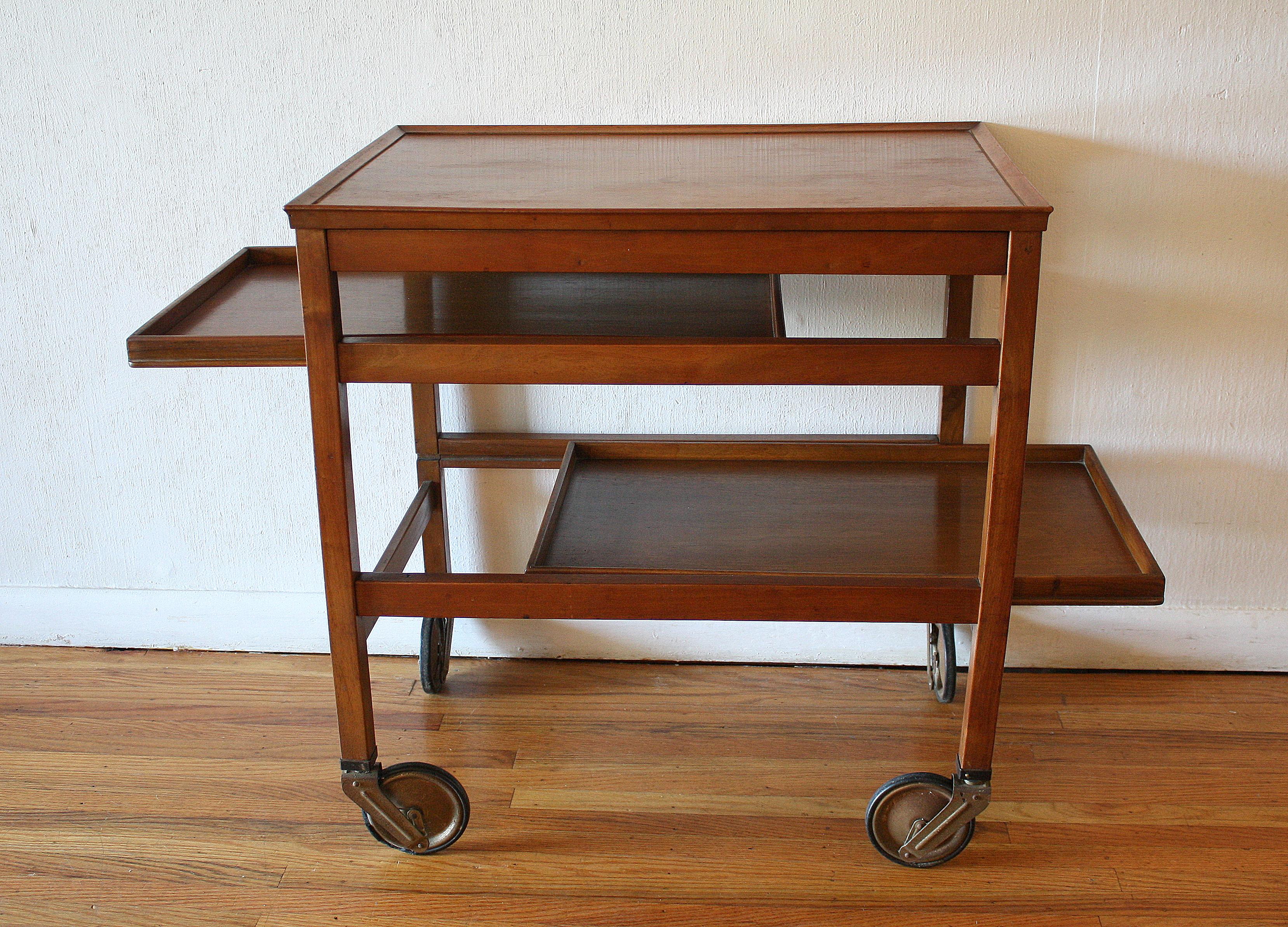 rolling cart picked vintage. Black Bedroom Furniture Sets. Home Design Ideas