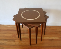 mcm nesting tile top nesting table circle 1