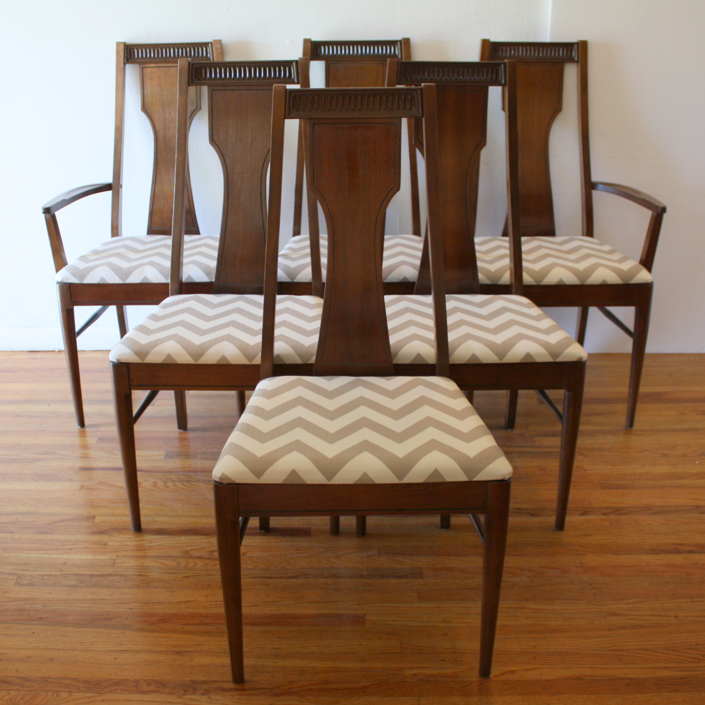Mid Century Modern Dining Chair Sets By Broyhill