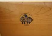 Heywood Wakefield cutout desk 2