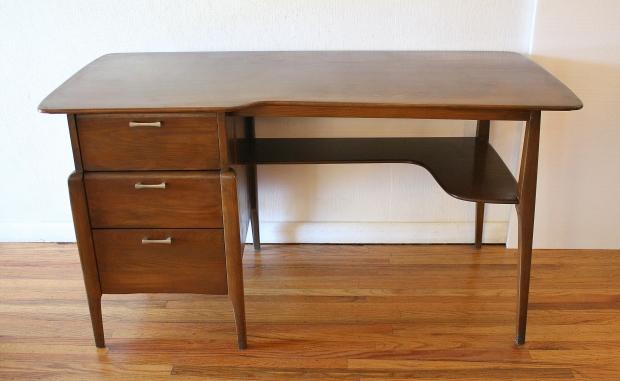 Heywood Wakefield cutout desk 4.JPG