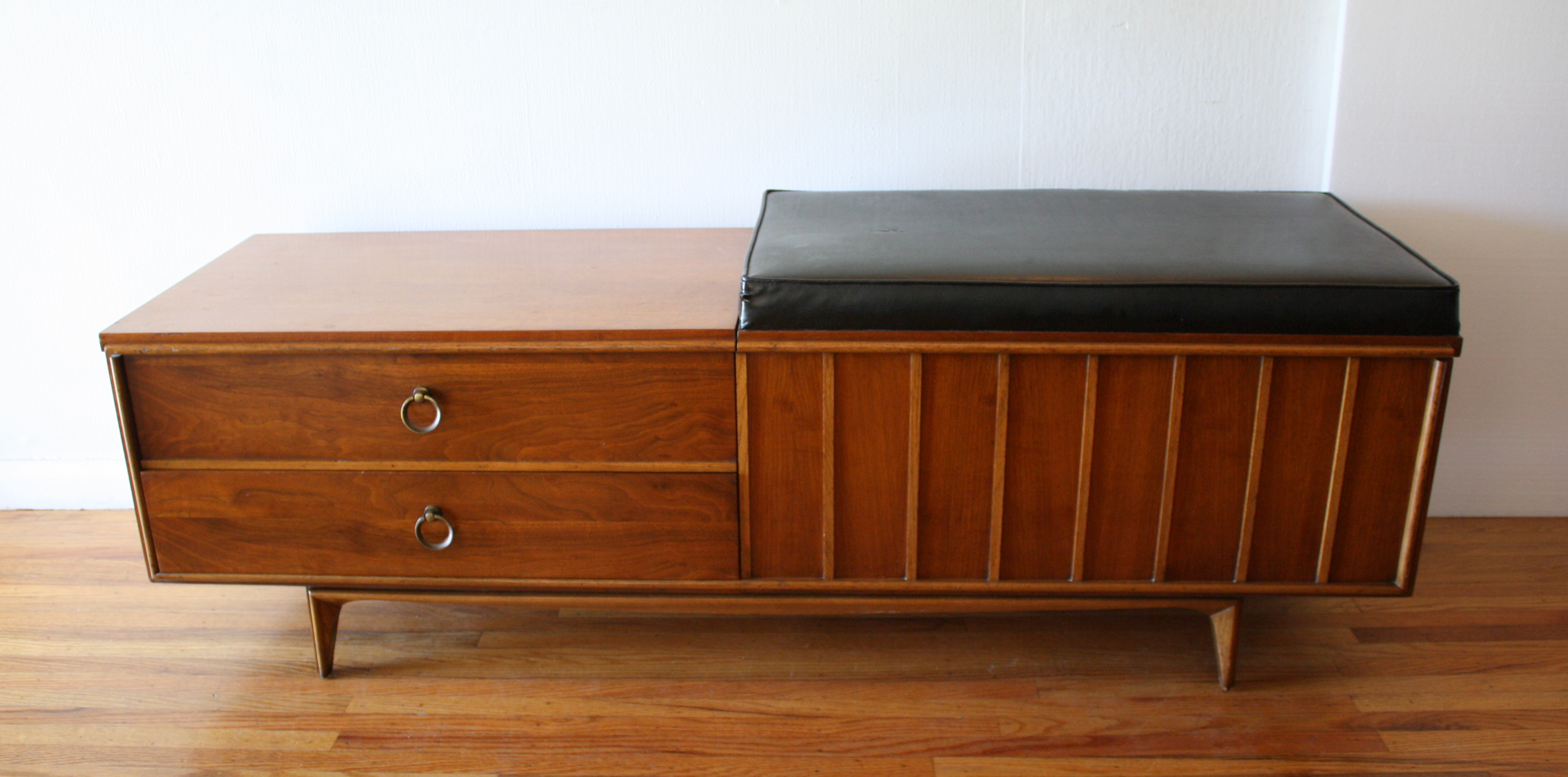 Mid Century Modern Lane Cedar Chest Bench Picked Vintage