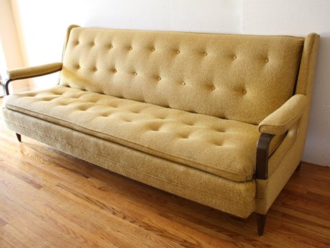 mid century modern couch 1