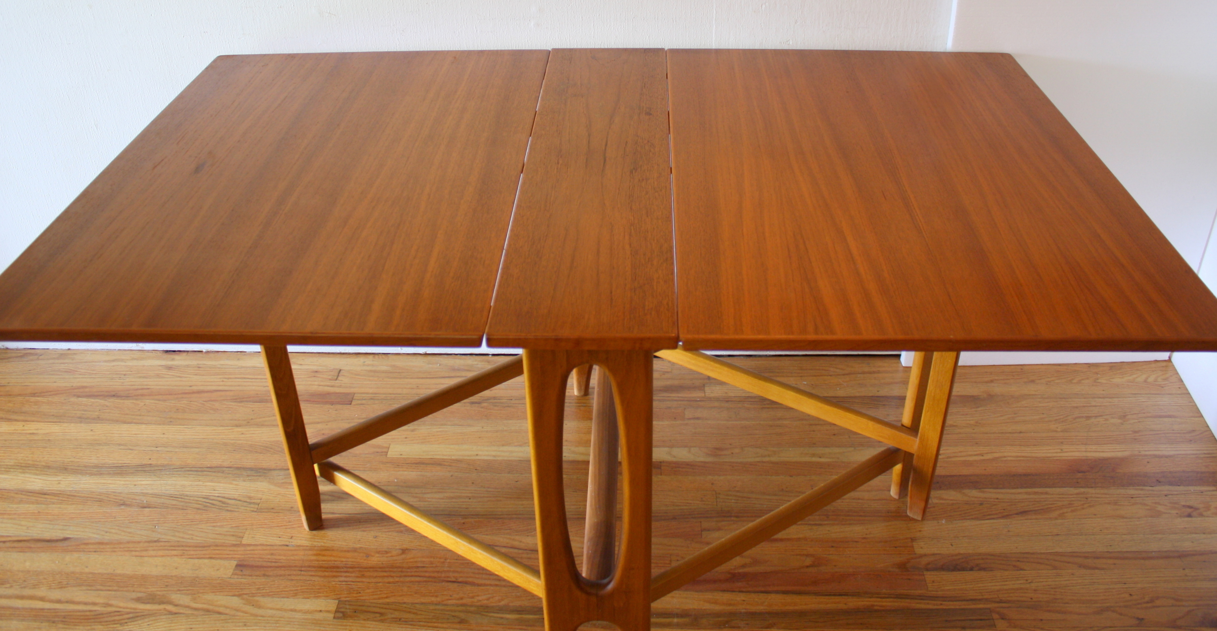 Mid Century Modern Teak Gateleg Dining Tables
